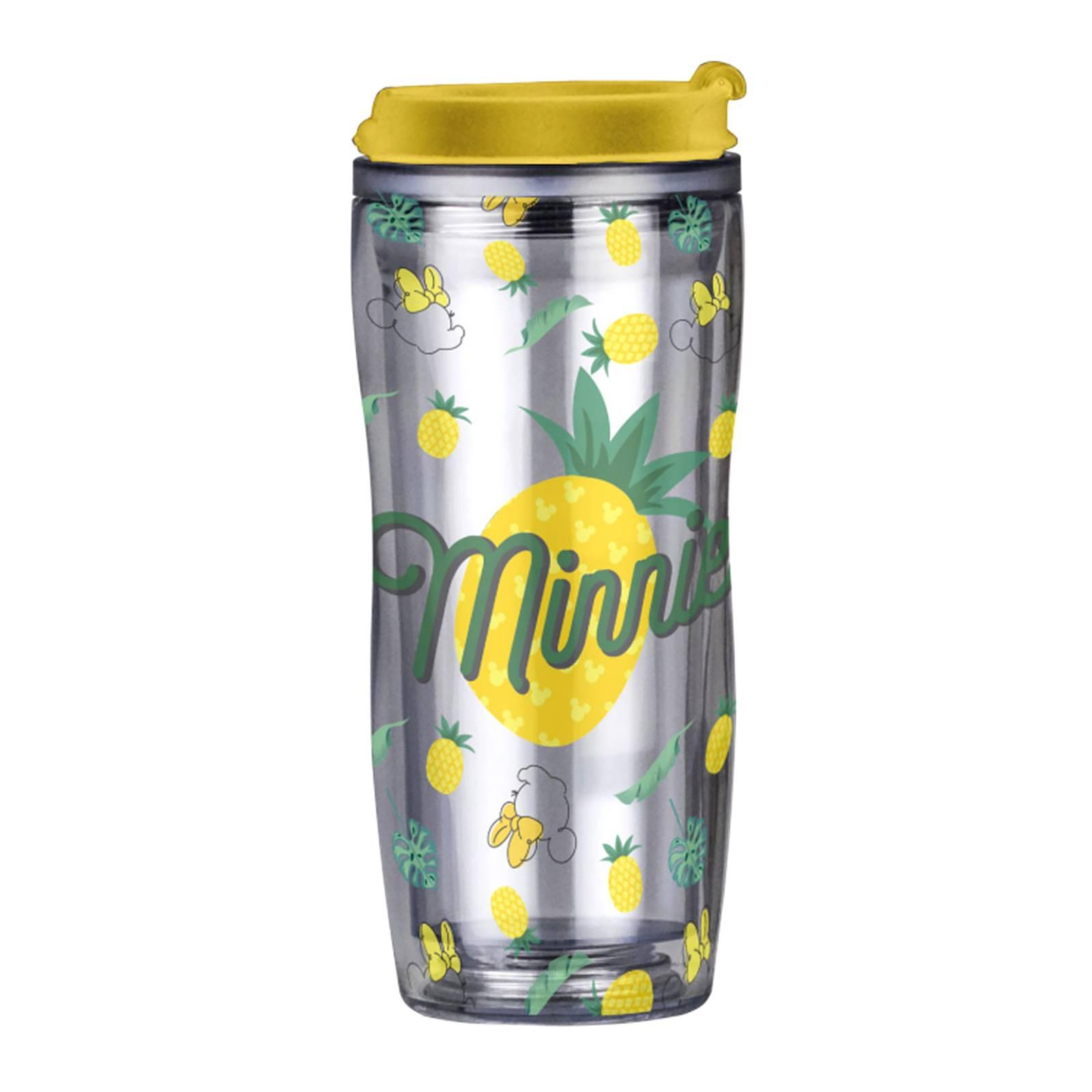 Kubek / Bidon Minnie Ananas z wymienną dekoracją 400 ml DISNEY / AMBITION