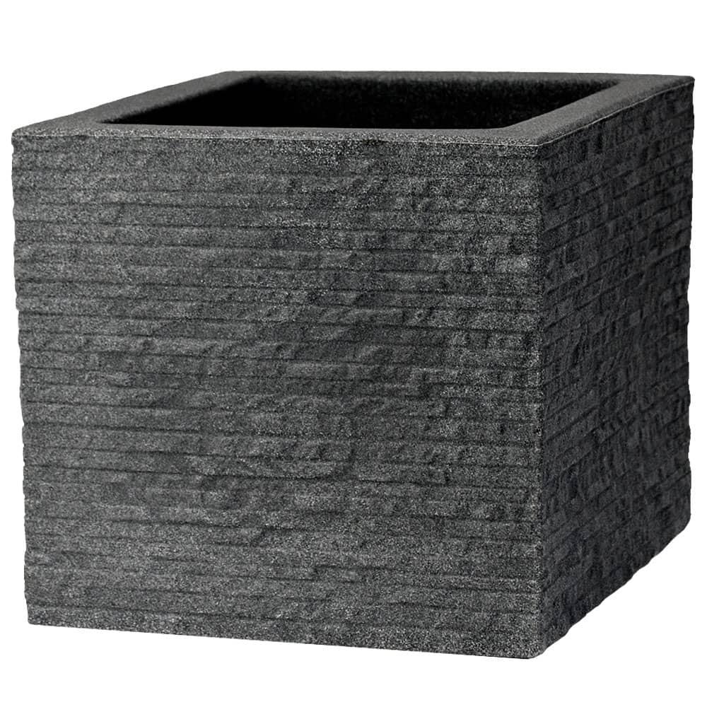 Donica Ceglana Kubus 40 x 40 x 34 cm antracyt PATIO