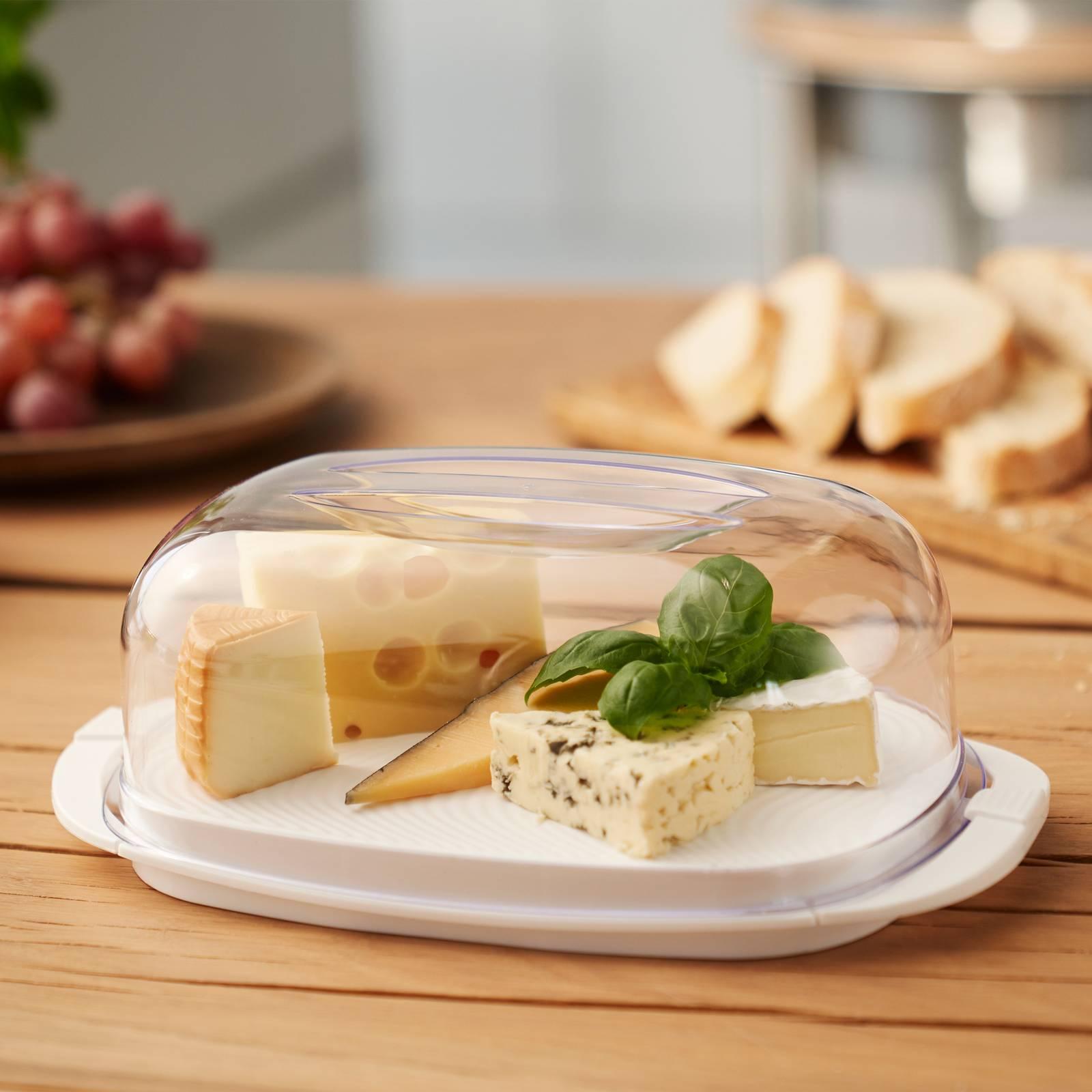 Butterdose Fresh 18 x 9,5 cm weiß ROTHO