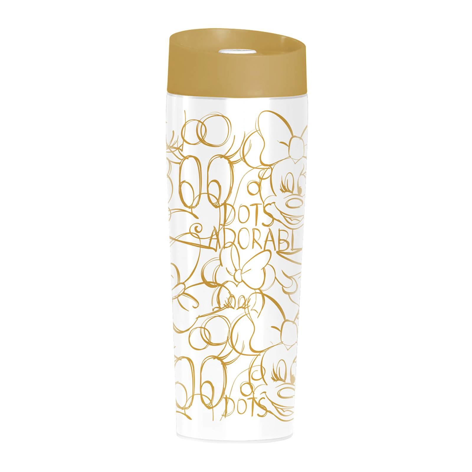 Kubek termiczny Minnie Złoto kropki 400 ml DISNEY / AMBITION