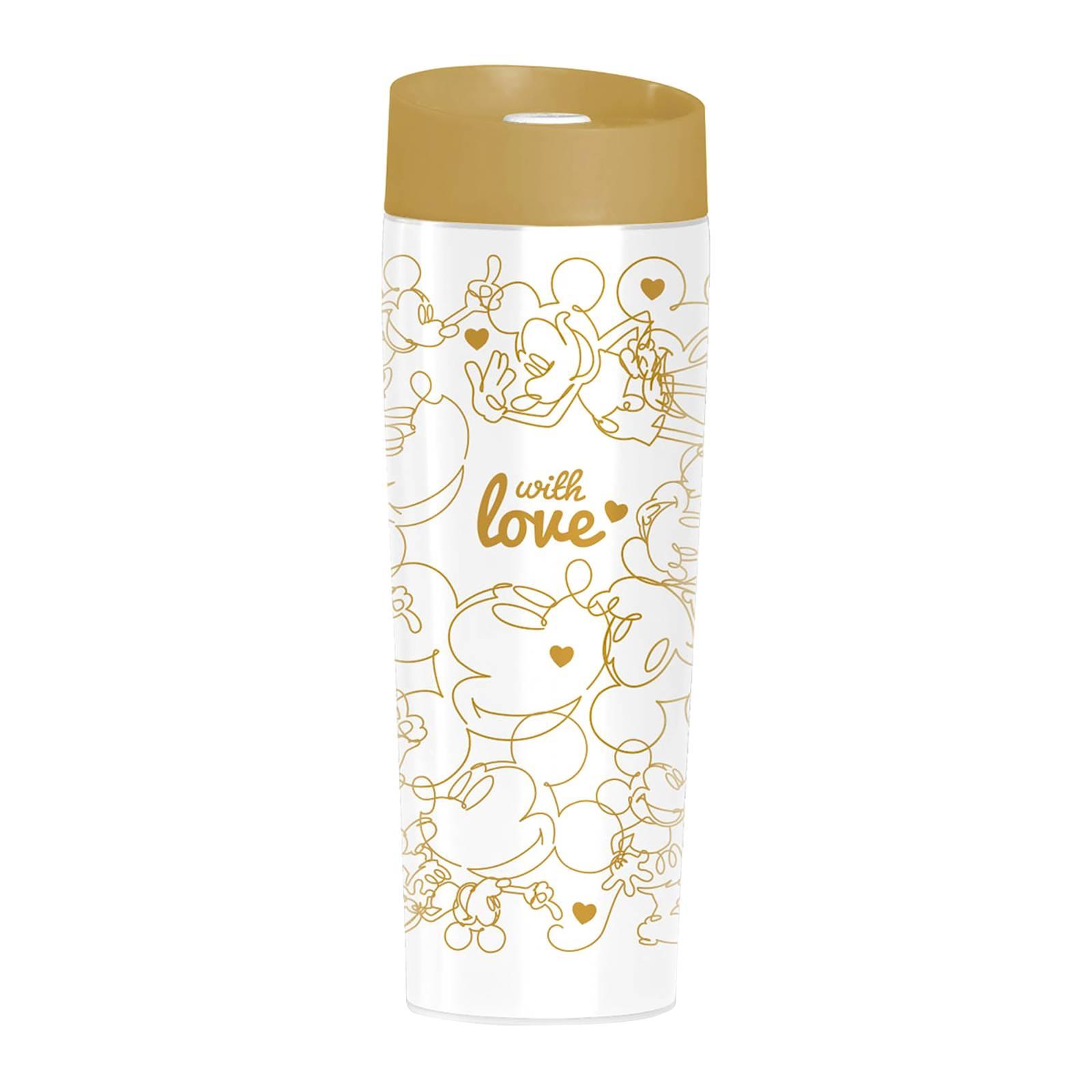 Kubek termiczny Mickey Złoto serca 400 ml DISNEY / AMBITION