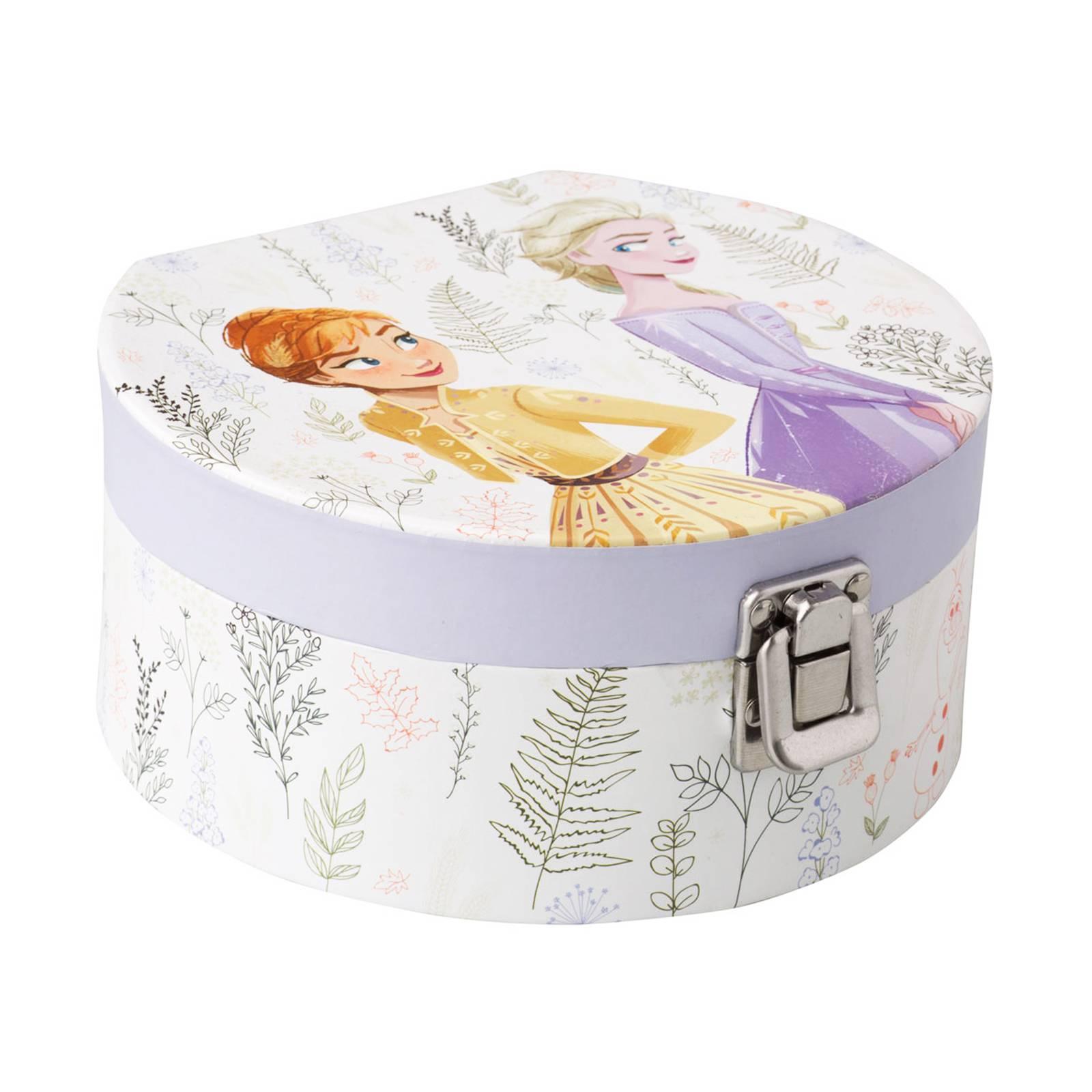 Jewellery box with mirror Frozen II Herbal 17 x 15,5 x 8 cm DISNEY
