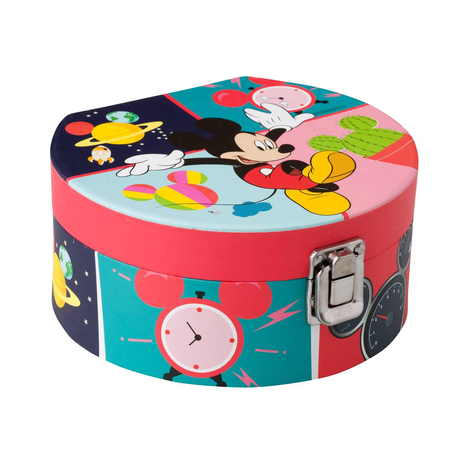 Pudełko z lusterkiem Myszka Mickey Everywhere 17 x 15,5 x 8 cm DISNEY