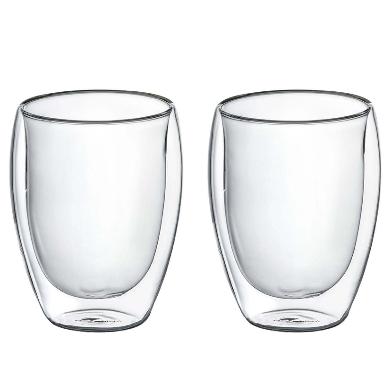 Komplet 2 szklanek termicznych Doble 350 ml AMBITION