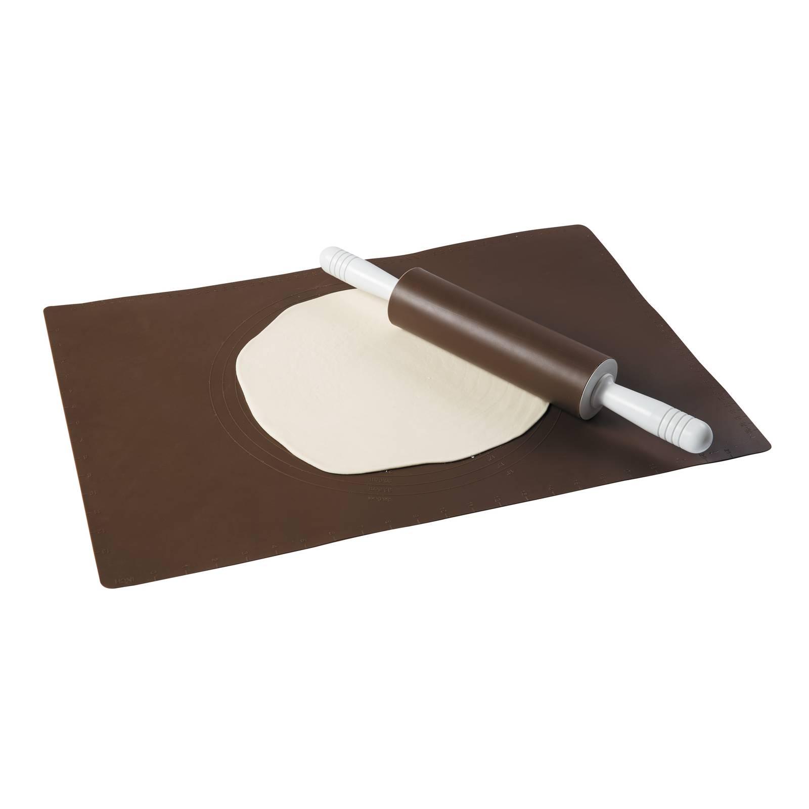 Tapis à pâtisserie en silicone Delice Brown 61,5 x 42 cm AMBITION