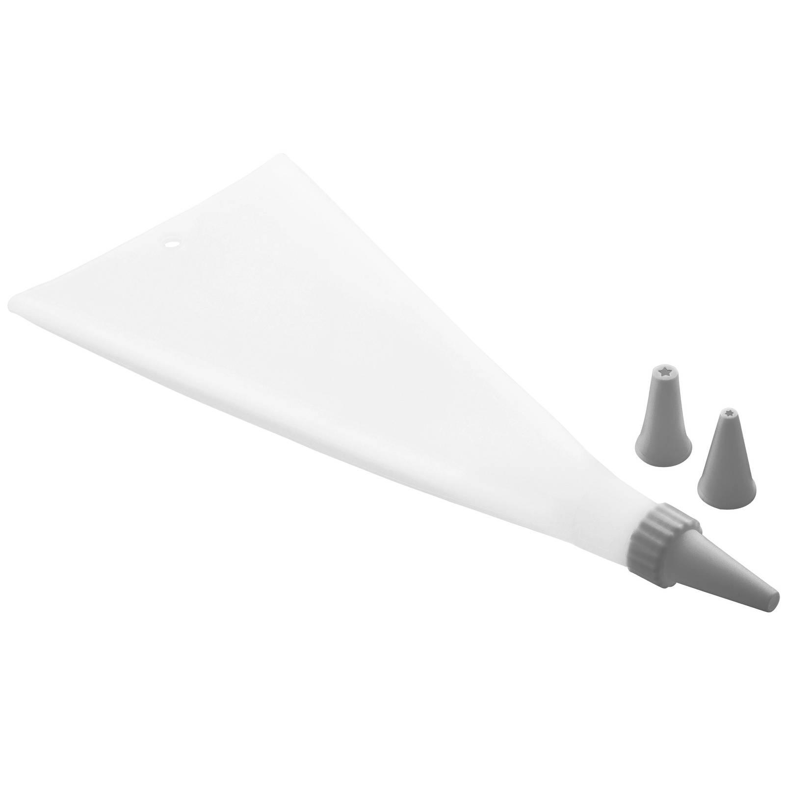 Tasca da pasticciere / sac à poche in silicone Glamour 33 cm grigio AMBITION
