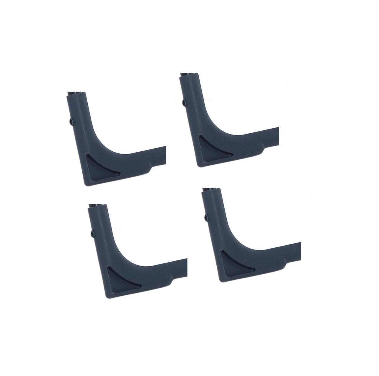 Stopki narożne do fotela / leżaka / łóżka ø18 mm 4 sztuki PATIO