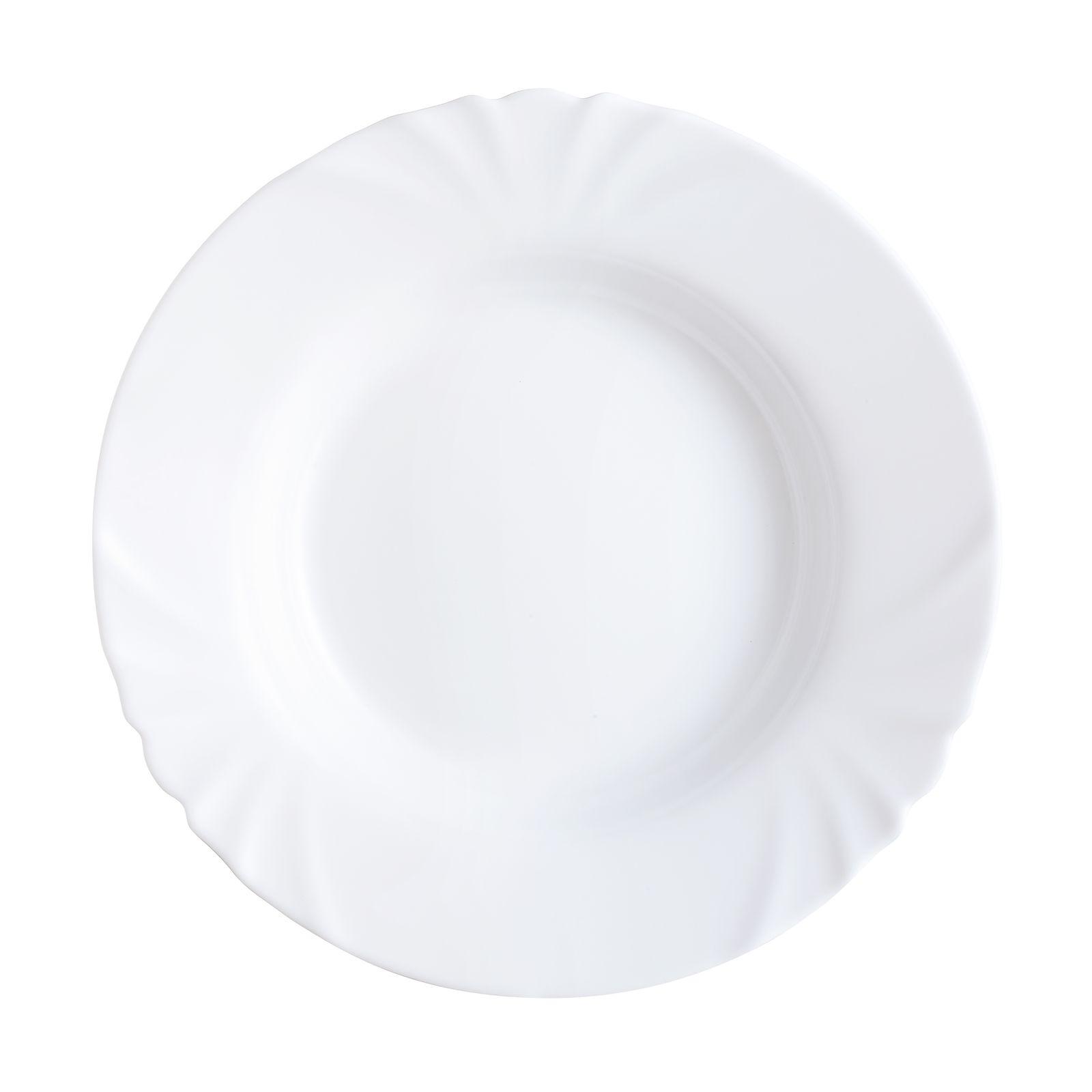 Jídelní servis Cadix 18-dílů LUMINARC (Hluboký talíř 23,8 cm)