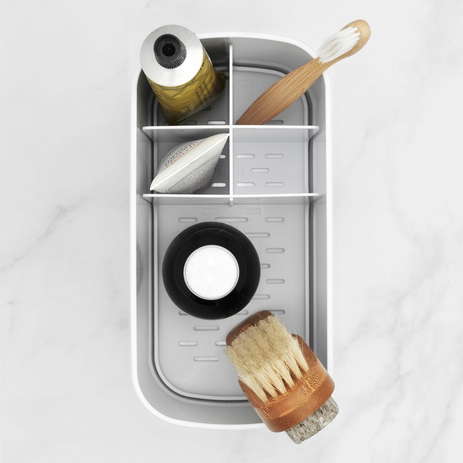 Organizer na umywalkę 19.6 cm biały BRABANTIA