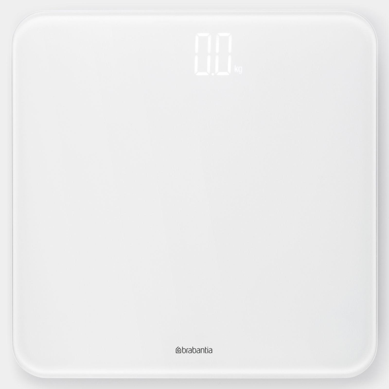 Waga łazienkowa 180 kg biała BRABANTIA