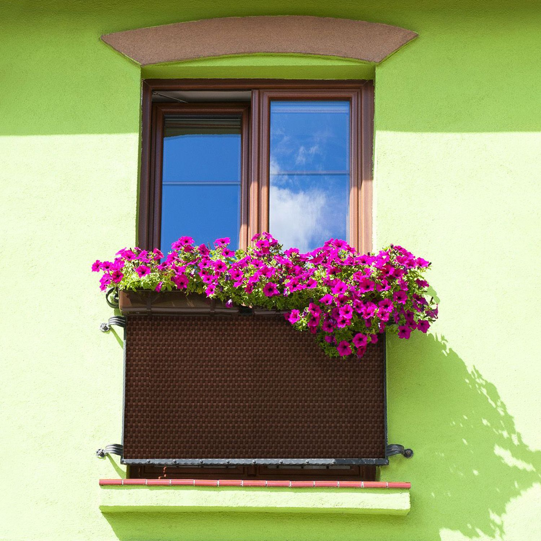 Osłona balkonowa Tress 1 x 3 m brązowa PATIO