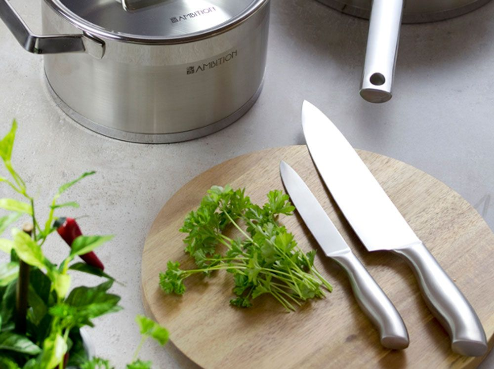 Pot with lid Expert 28 cm 9 l AMBITION