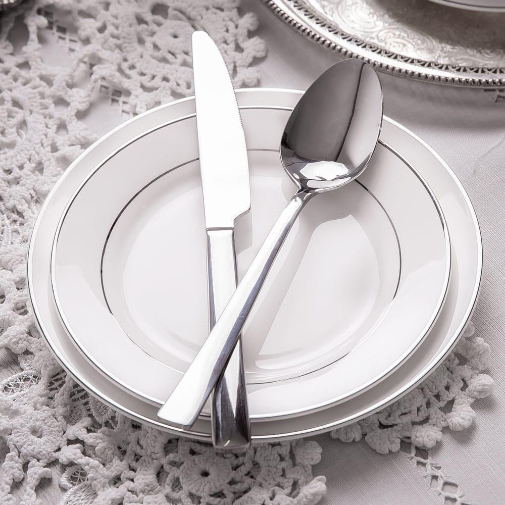 Dessertteller Aura Silver 19 cm AMBITION