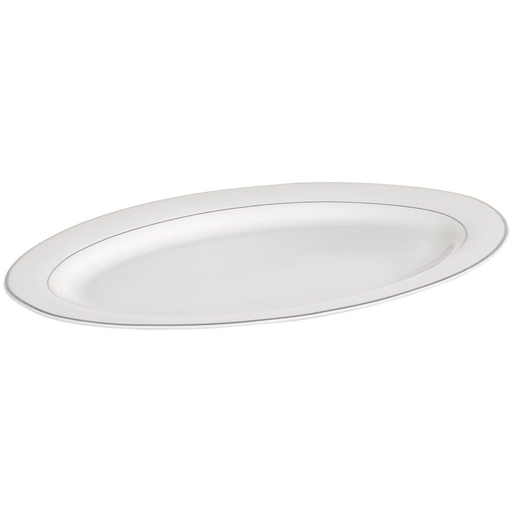 Servierteller Aura Silver 35,5 cm AMBITION