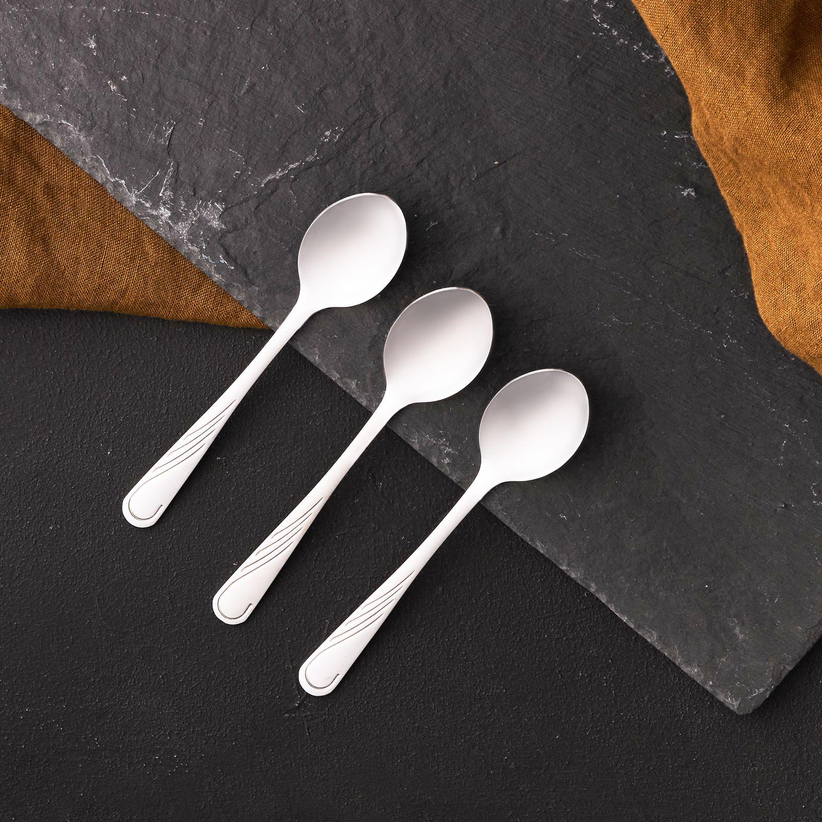 Lot de 3 cuillères à thé Napoli 13,7 cm AMBITION