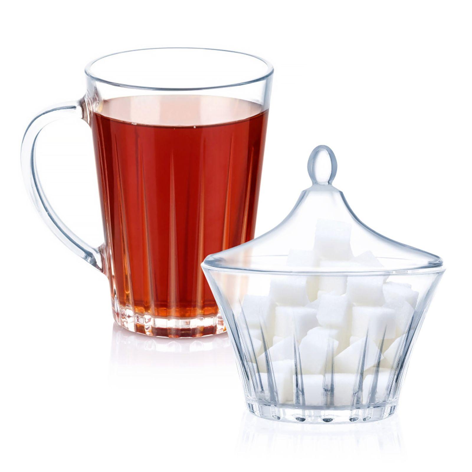 Komplet do kawy / herbaty Lance 8-elementowy LUMINARC