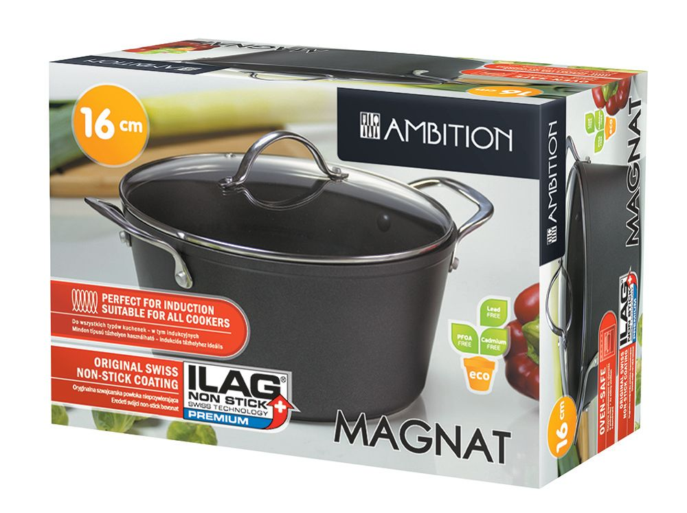 Pot Magnat 16 cm AMBITION