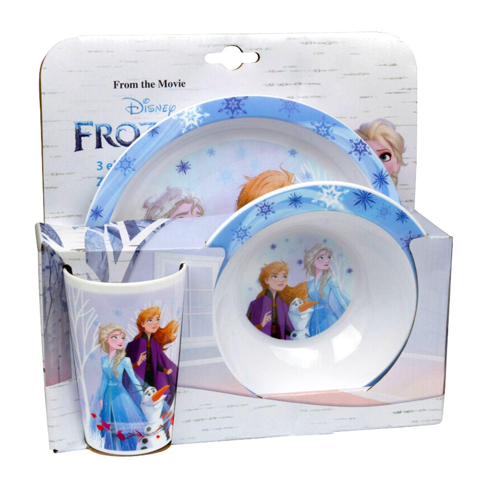 Sada dětského nádobí Frozen II Blue 3-díly DISNEY