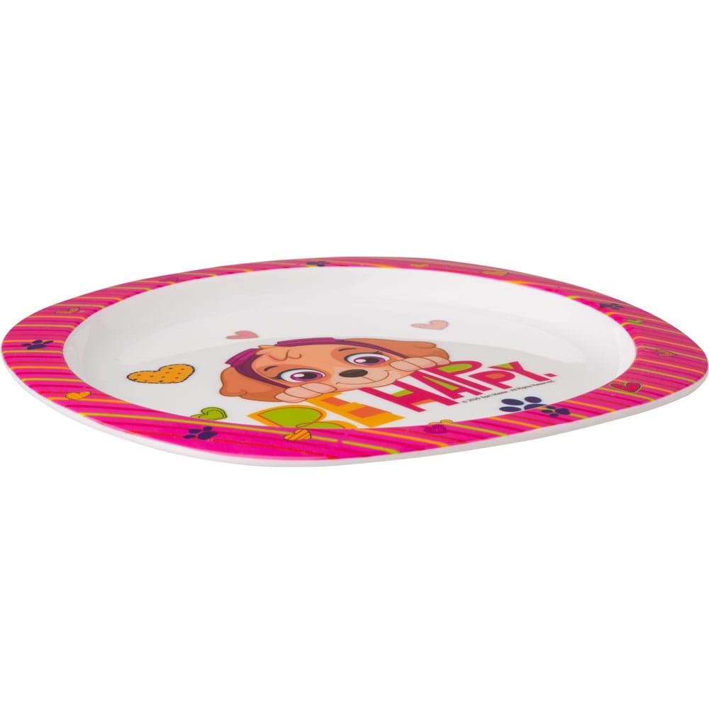 Plastový talíř Tlapková Patrola Girls 22 cm NICKELODEON
