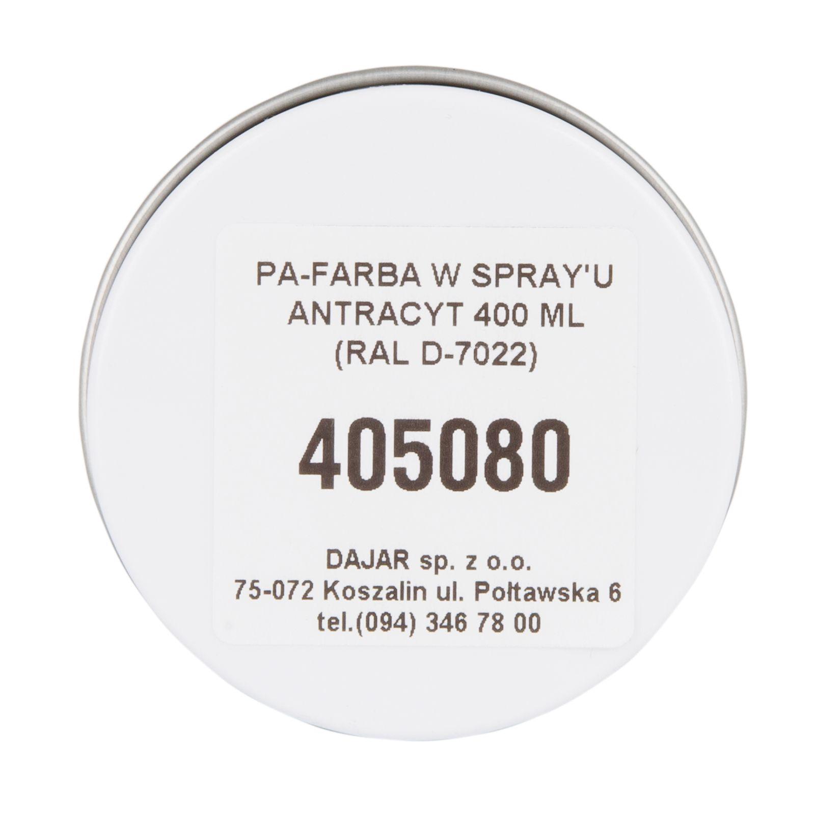 Farba w spray'u 400 ml Profi antracyt BOLL