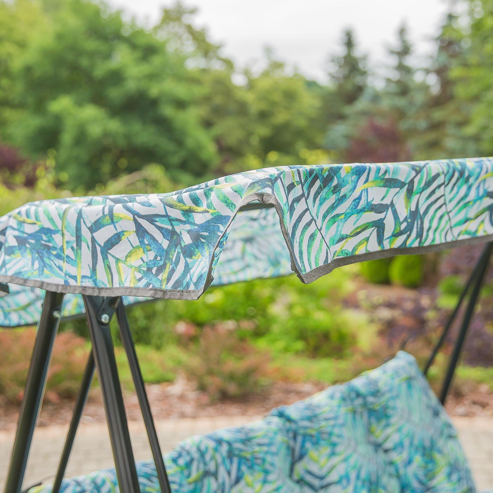 Poduszki z daszkiem na huśtawkę 138 cm Tora G045-01PB PATIO