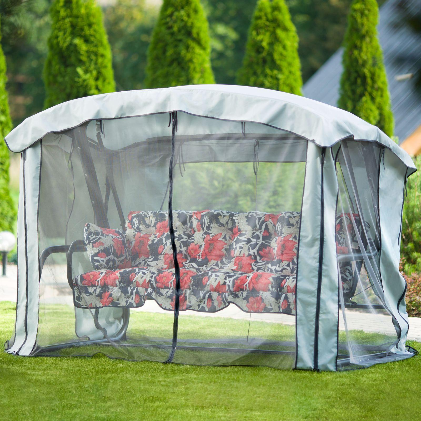 Dondolo da giardino con zanzariera Ravenna Lux A090-03LB PATIO