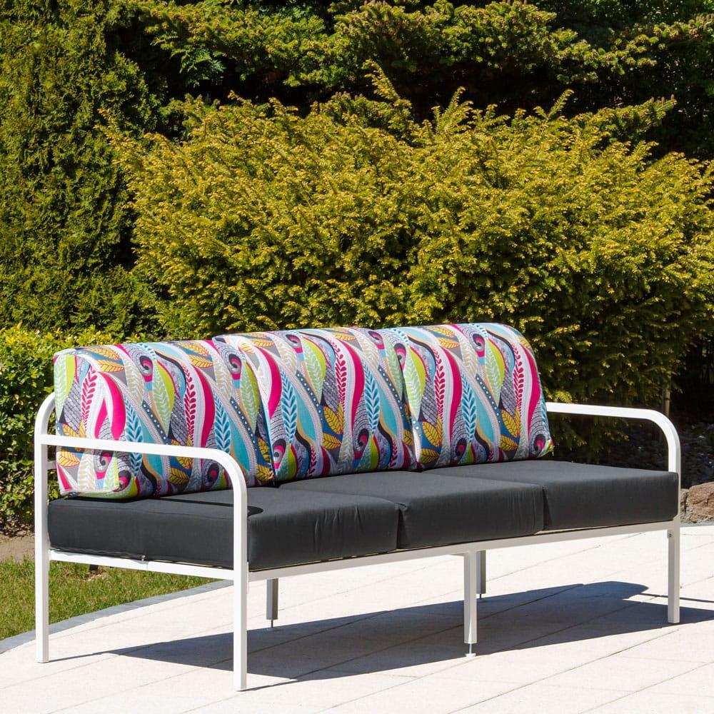 Sofa 3-osobowa Agat 185 x 77 x 74 cm L122-07EB PATIO