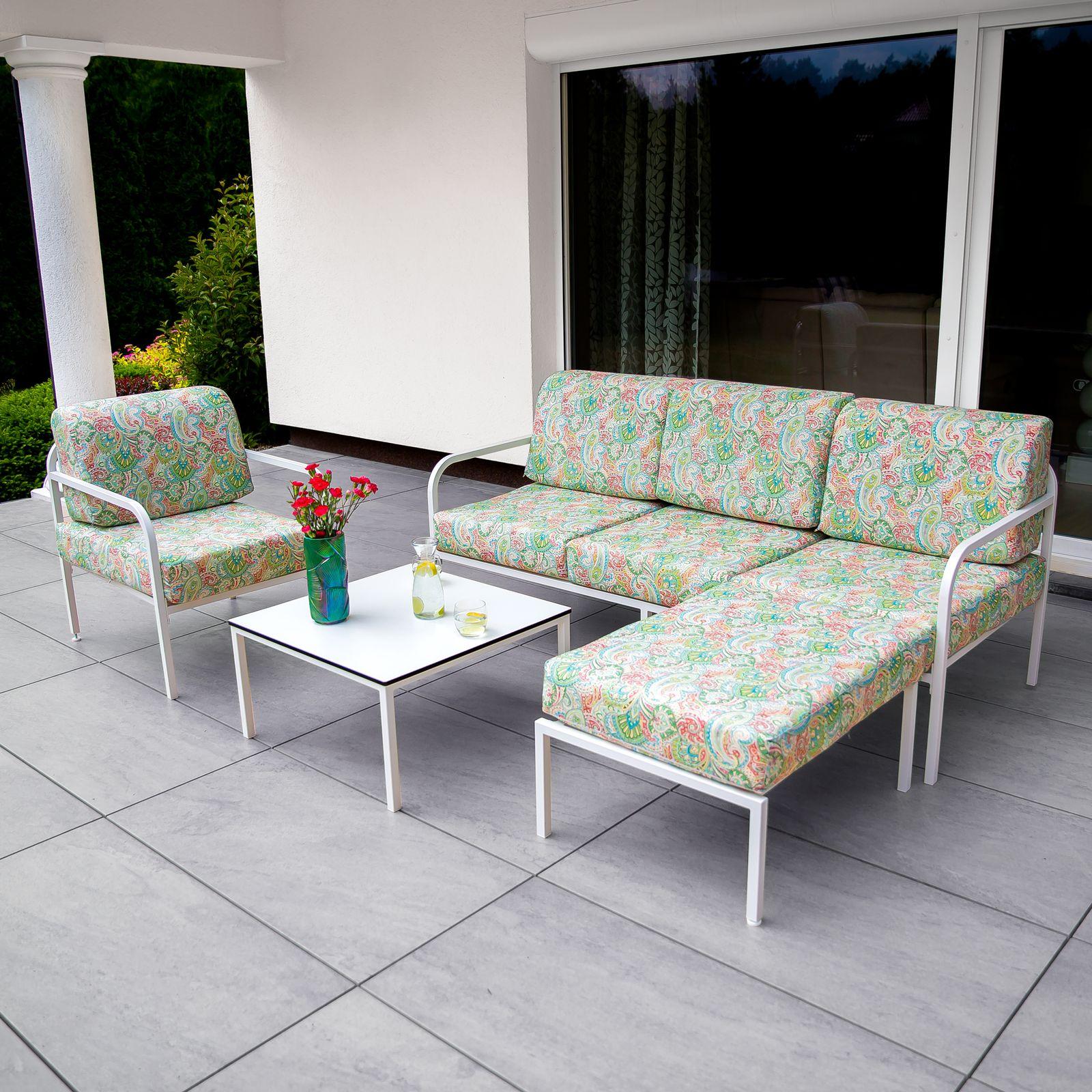 Fotel Agat 65 x 77 x 74 cm G038-12LB PATIO