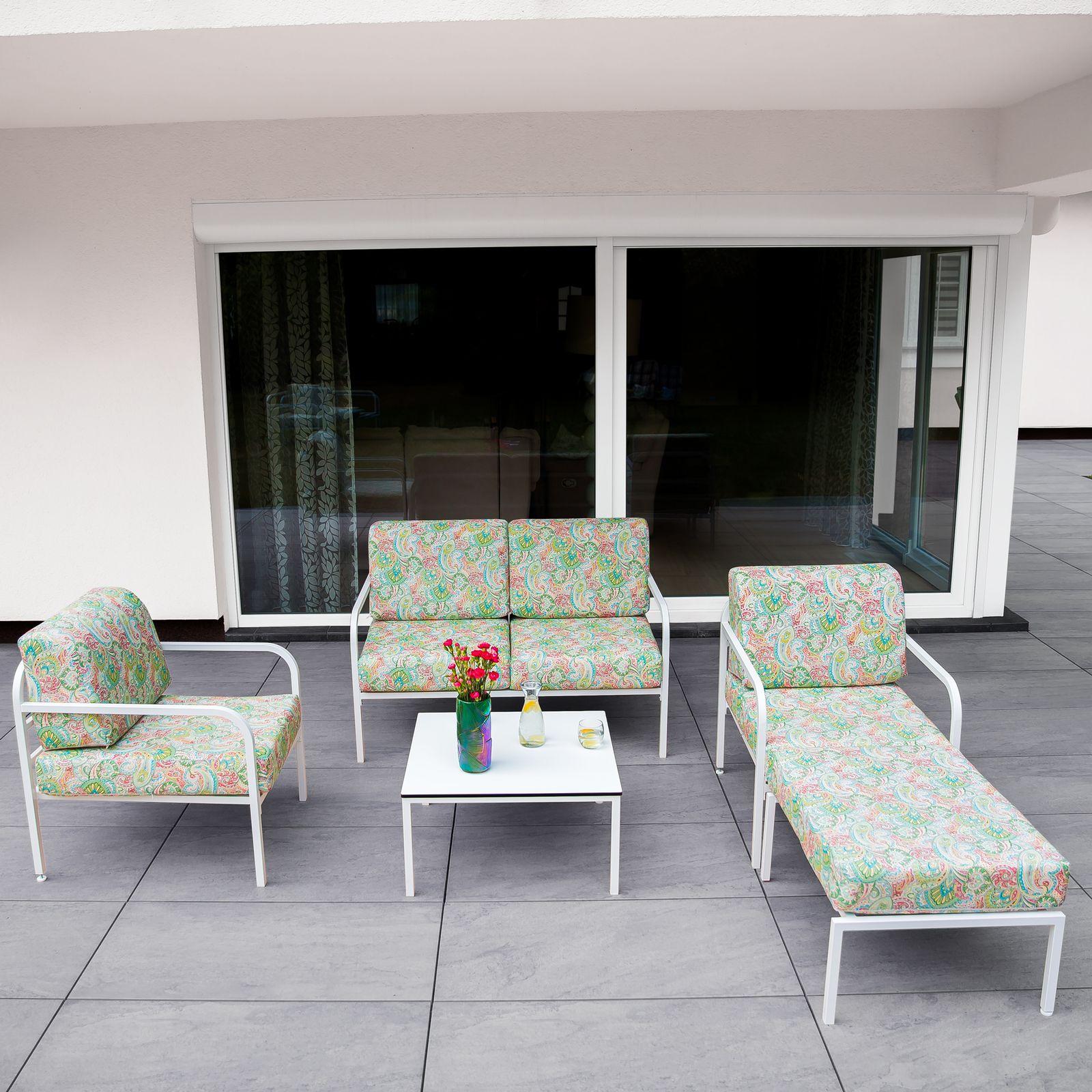 Sofa 2-osobowa Agat 125 x 77 x 74 cm G038-12LB PATIO
