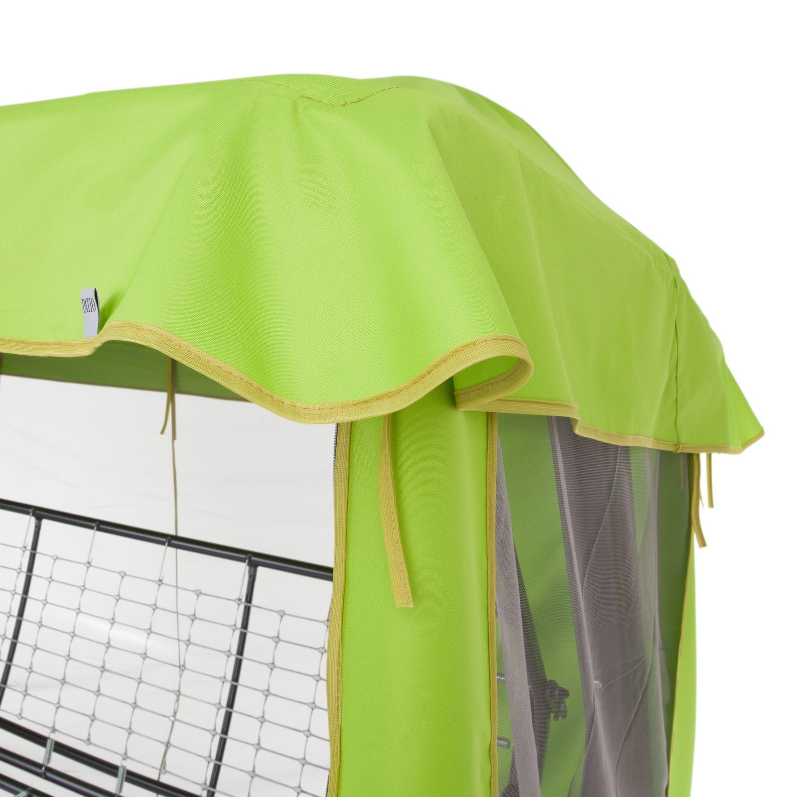 Dach z moskitierą do huśtawki ogrodowej 228 x 126 cm Rimini / Venezia D031-12CWPATIO