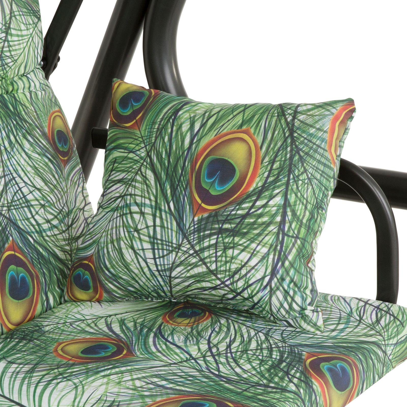 Profilowane poduszki na huśtawkę 180 cm Rimini / Venezia (Bresso) G036-02LB PATIO