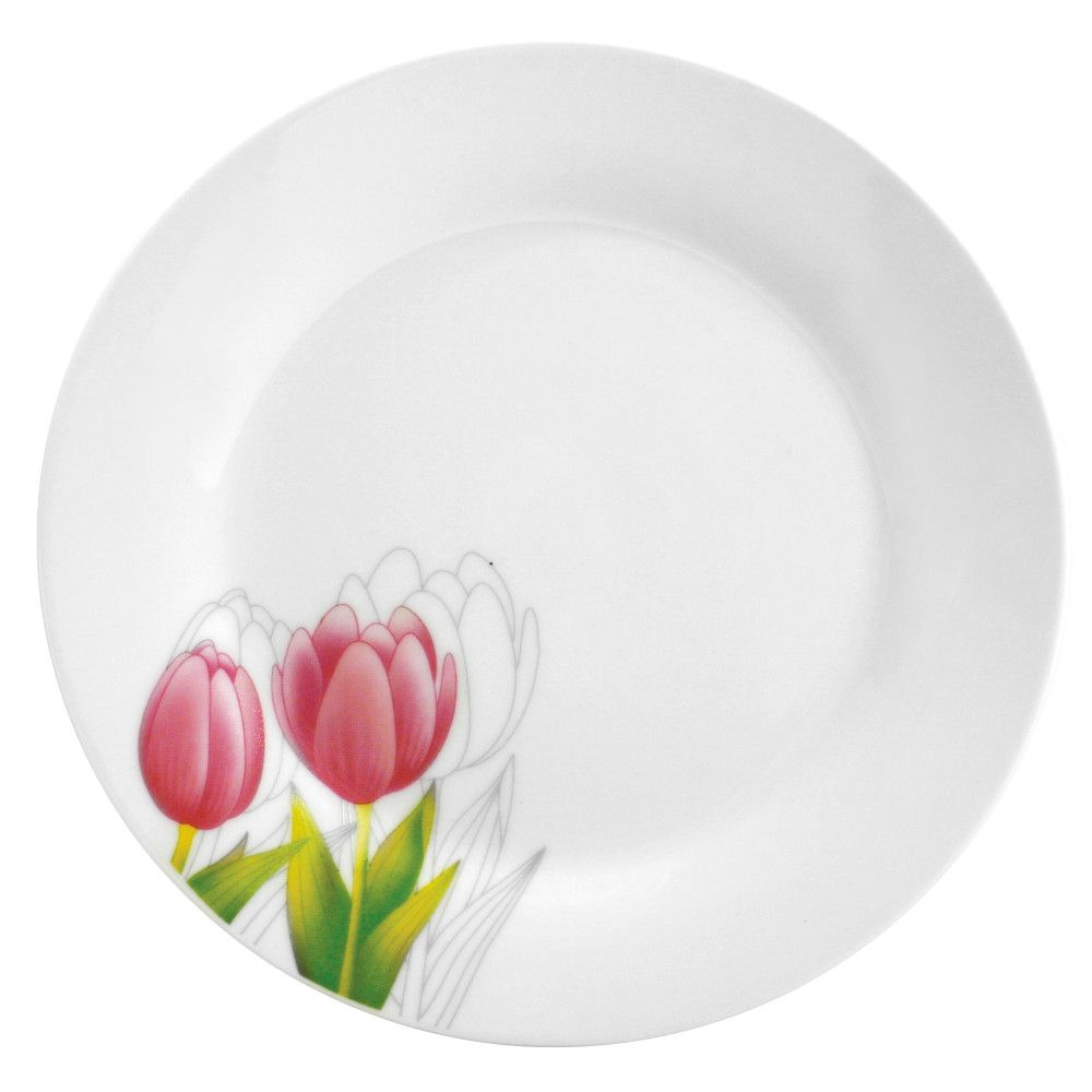 Mělký talíř Tulipán 23 cm DOMOTTI