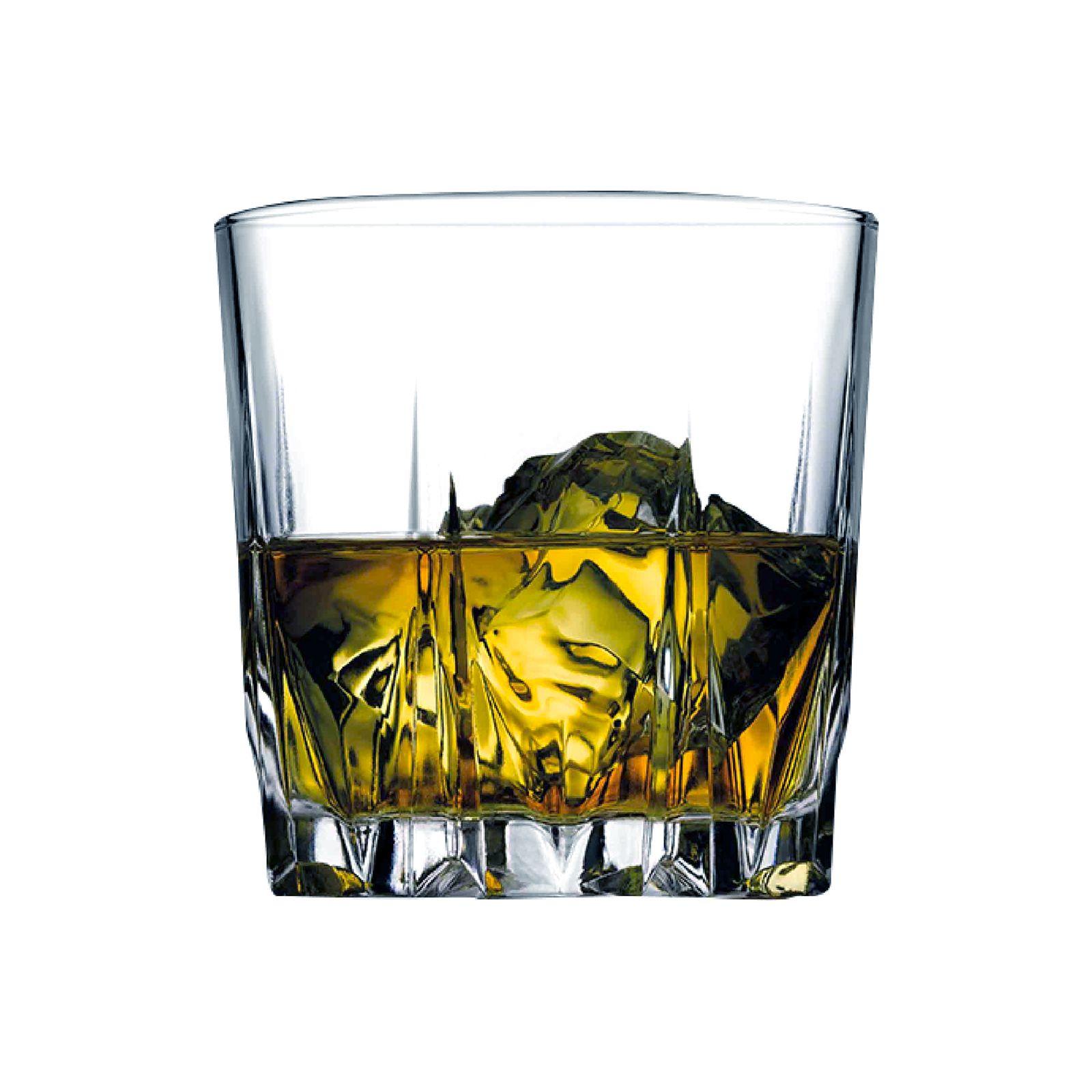 Set of 6 whisky glasses Karat 320 ml PASABAHCE