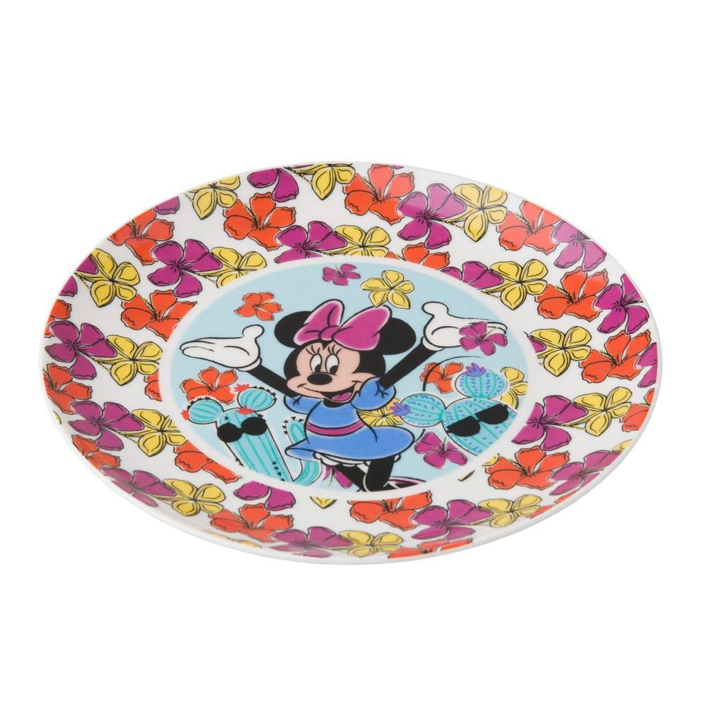 Porcelánový talíř Minnie Cactus 19 cm DISNEY
