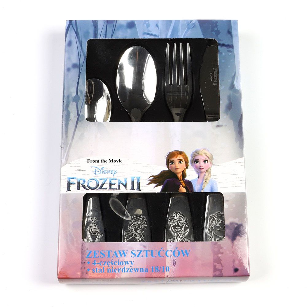 Sada dětských nerezových příborů Frozen Classic 4-díly DISNEY