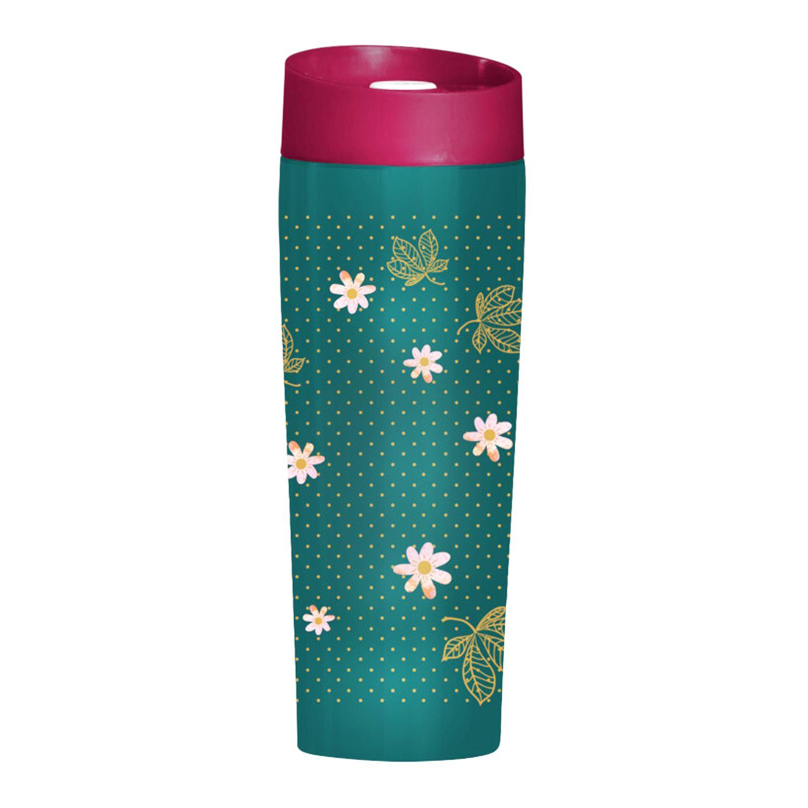 Kubek termiczny Minnie Flowers Green 400 ml DISNEY