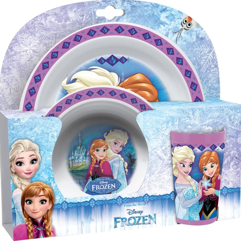 Sada dětského nádobí Frozen Polly 3-díly DISNEY