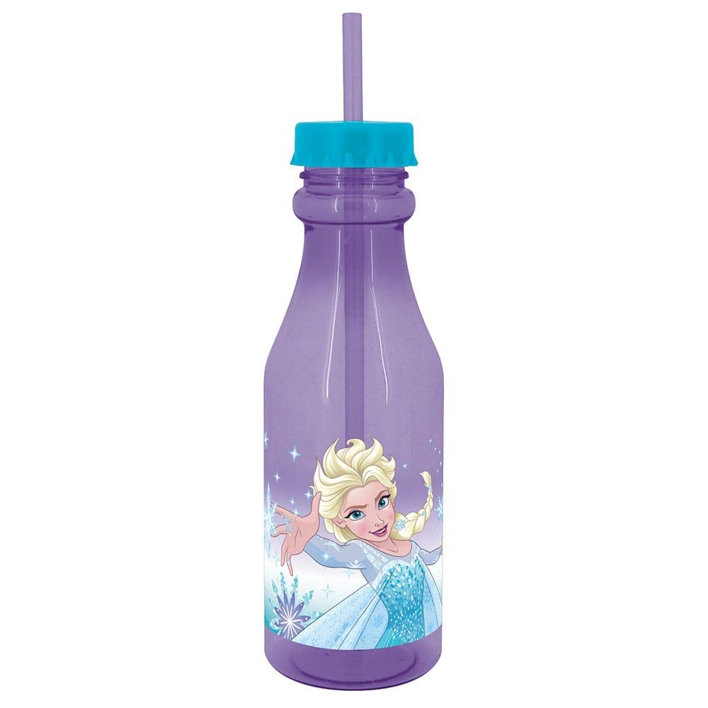 Láhev se slámkou Frozen Violet 500 ml DISNEY