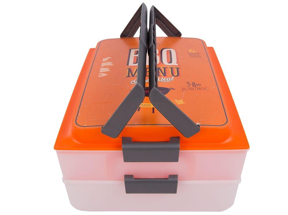 Boîte de conservation Dolce Modern BBQ 39 x 30 x 18 cm DOMOTTI