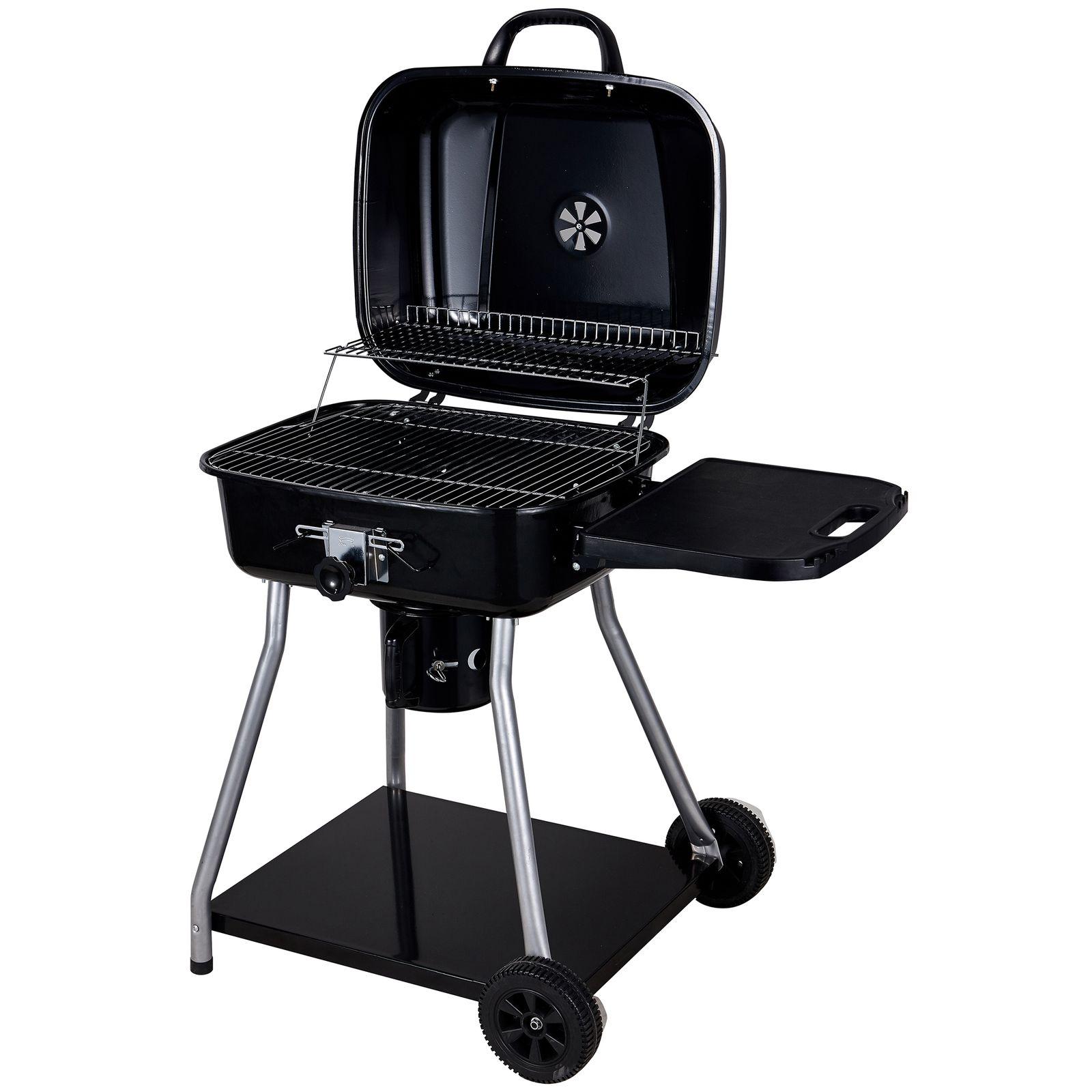 Barbecue avec couvercle 102 x 57 x 95 cm PATIO