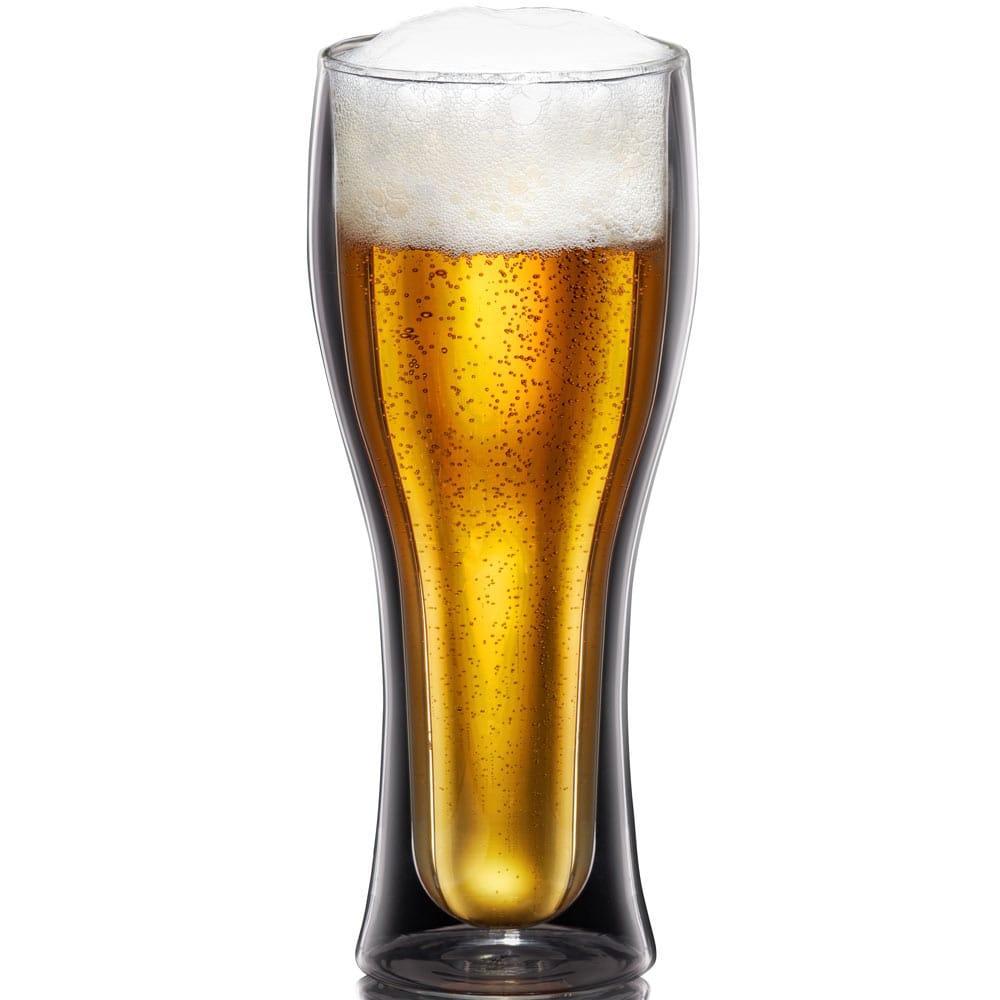 Komplet 2 szklanek termicznych do piwa Mia 400 ml AMBITION