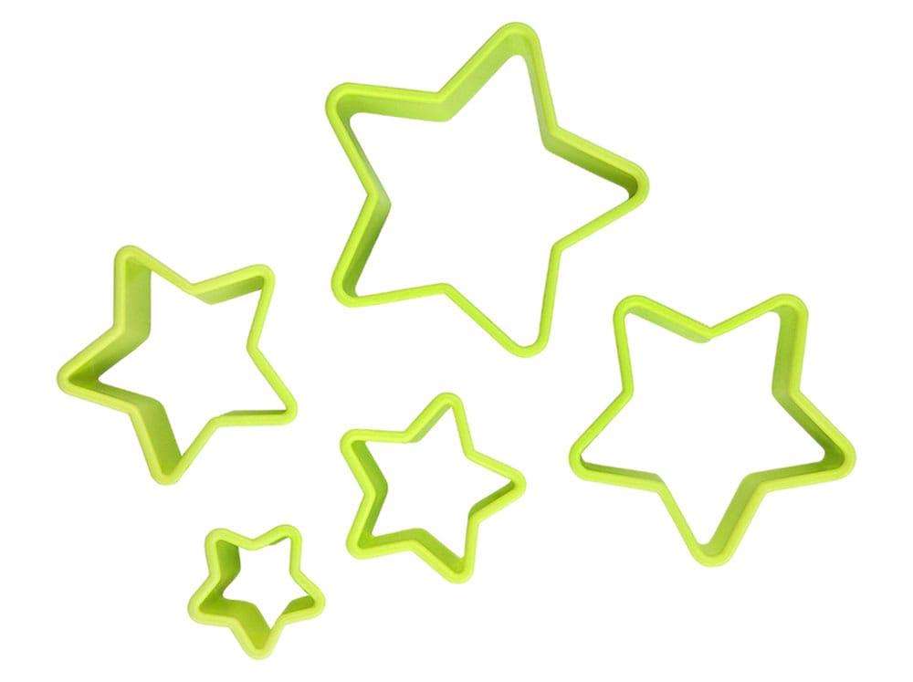 Set de 5 emporte-pièces Sweet étoile AMBITION