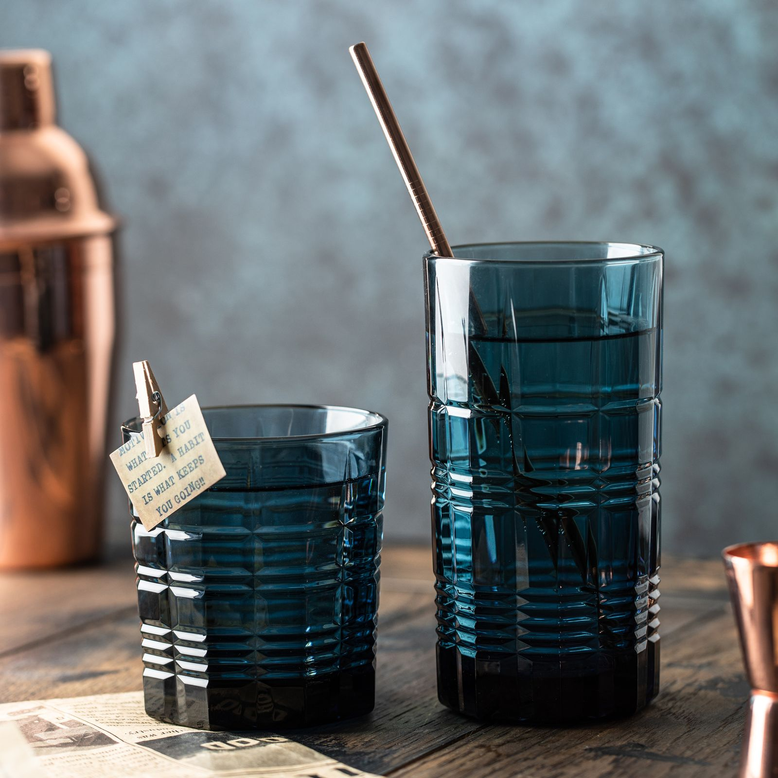 Szklanka niska Dallas London Topaz 300 ml LUMINARC