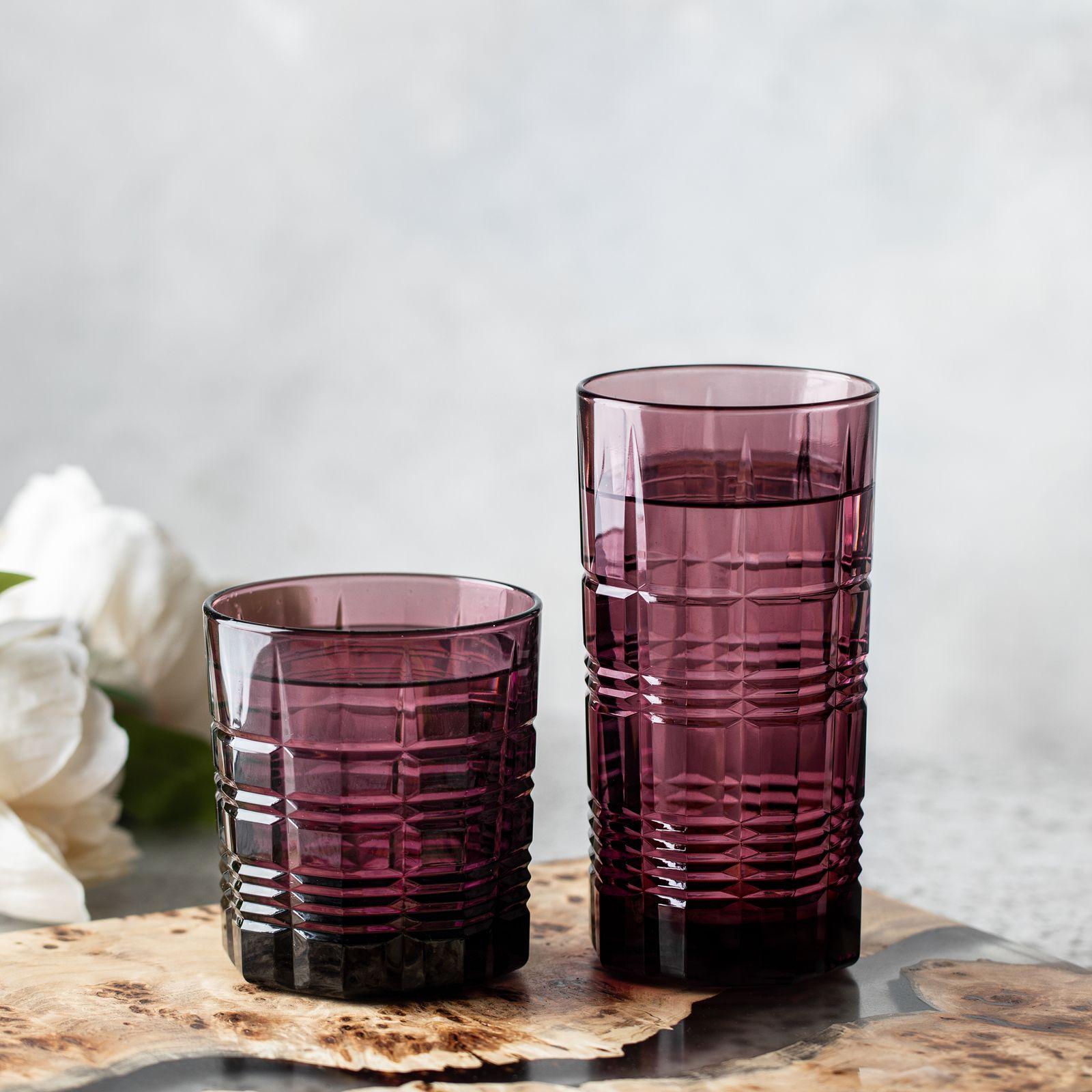 Trinkglas niedrig Dallas Lilac 300 ml LUMINARC