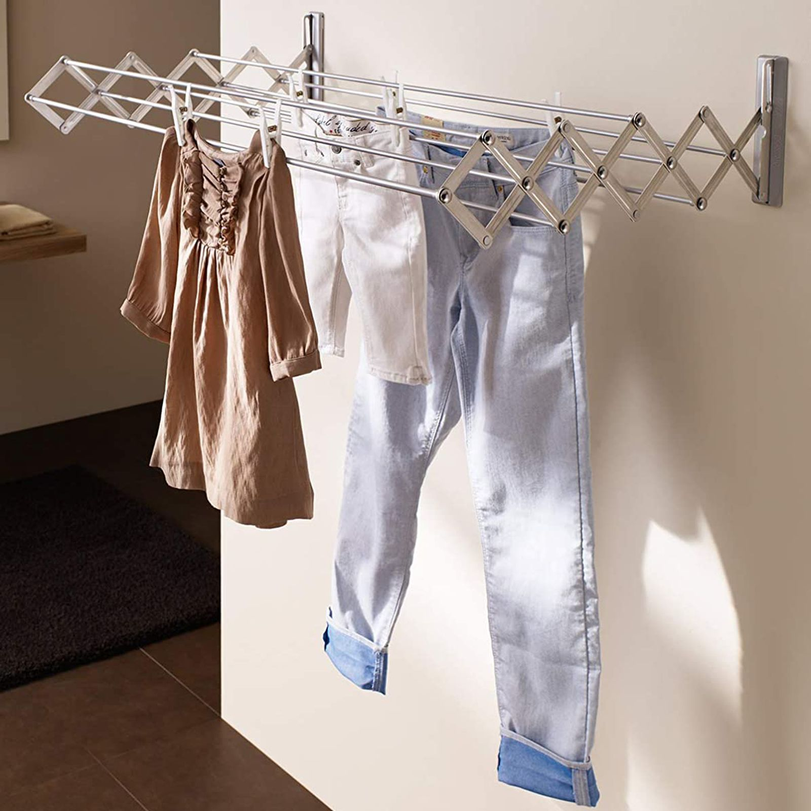 Suszarka na pranie ścienna Artweger by Juwel Ruckzuck 60 cm JUWEL