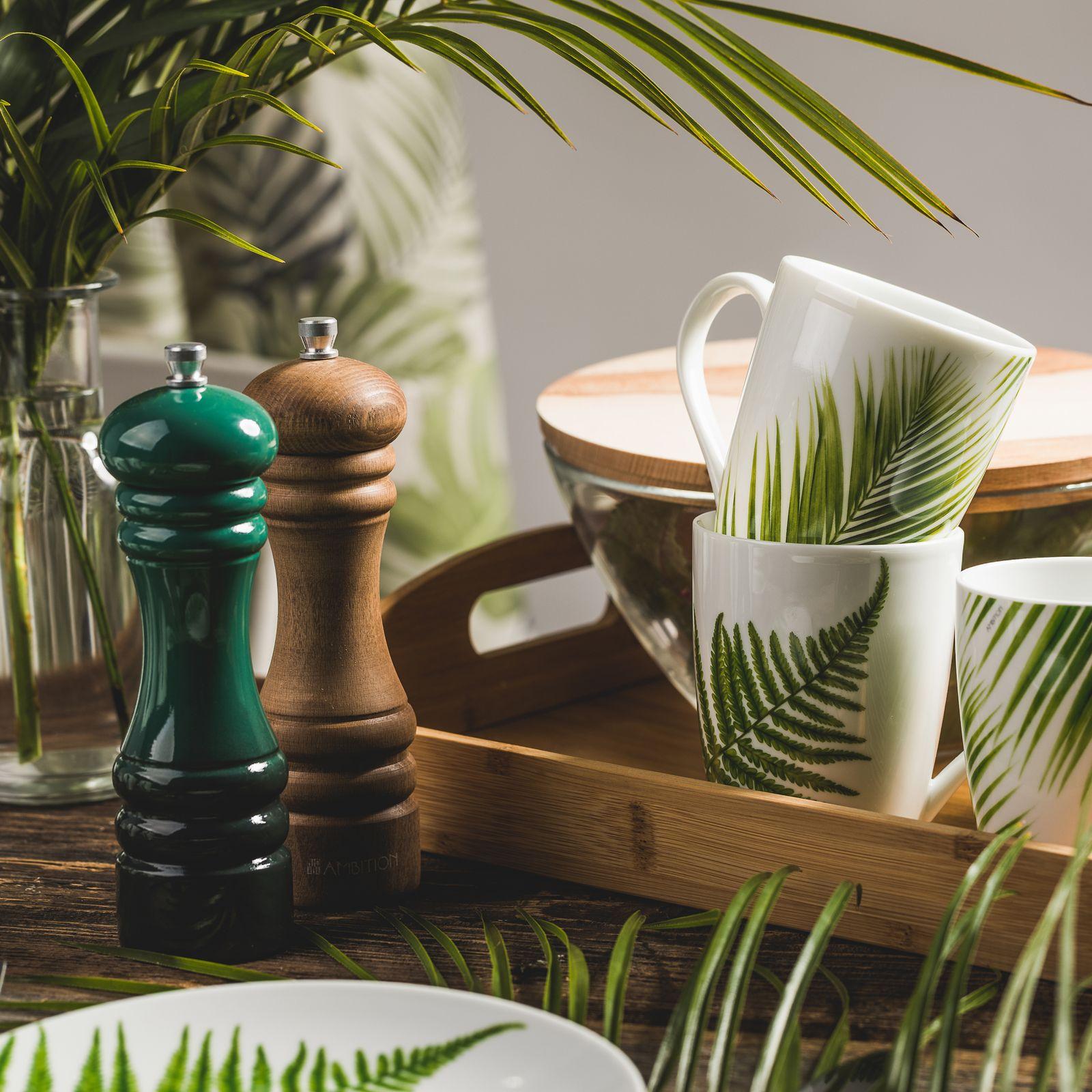 Plateau rectangulaire en bambou Natural 44 x 30 cm AMBITION