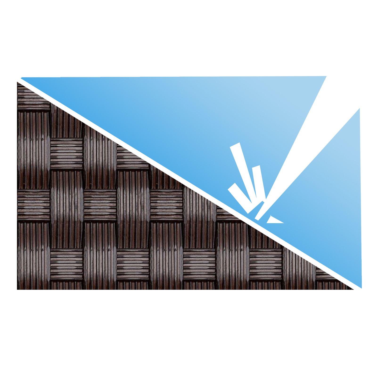 Osłona balkonowa Tress 1 x 5 m brązowa PATIO