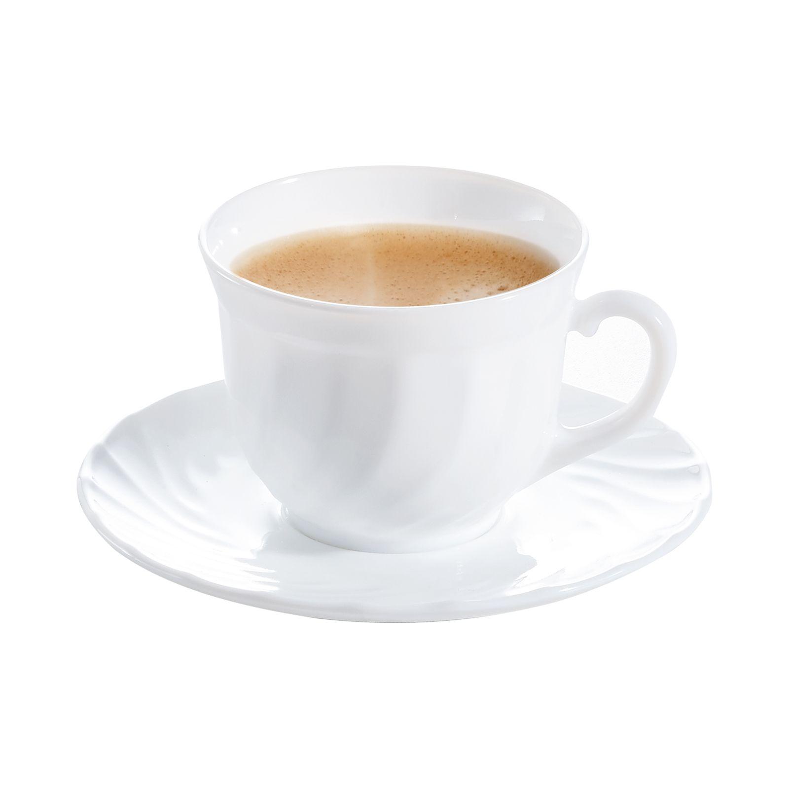 Komplet kawowy Trianon 280 ml 8-elementowy LUMINARC