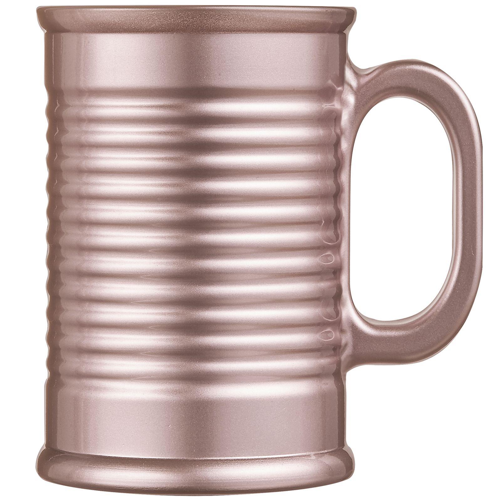 Kubek Conserve Moi 320 ml różowy-metalik LUMINARC