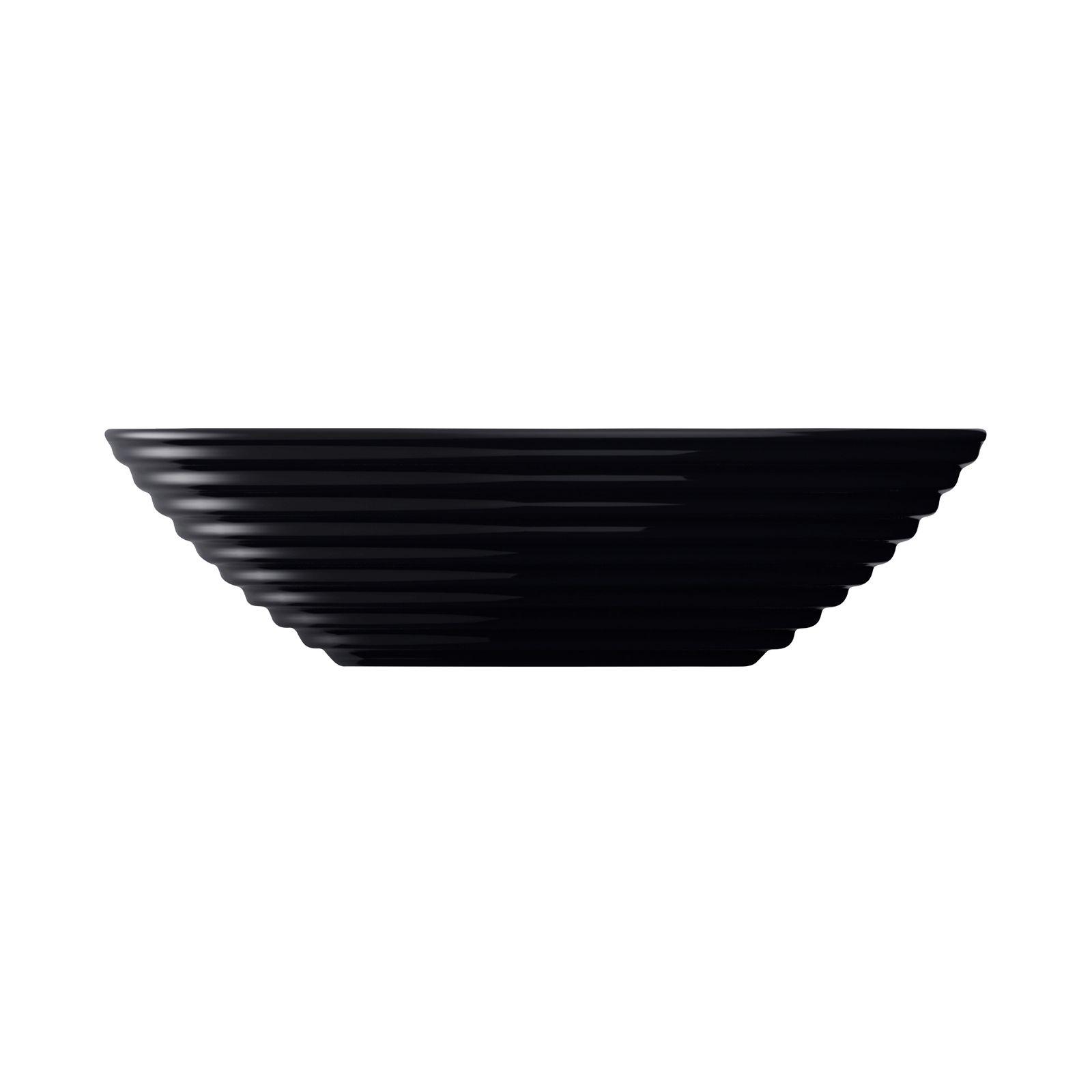 Salaterka / talerz głęboki Harena 20 cm czarny LUMINARC
